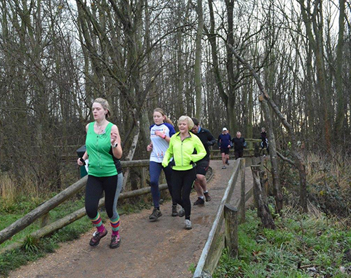 Huntingdon parkrun New Year's Day