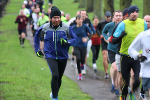 9th January at Northampton parkrun