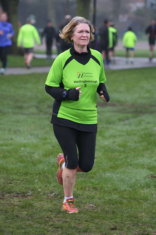 Mandy at Northampton parkrun