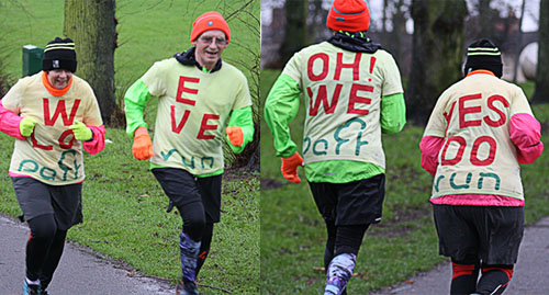 We love parkrun, oh yes we do! t-shirts