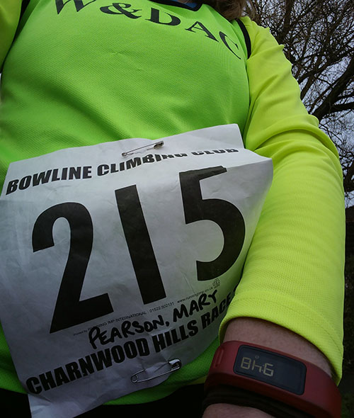Charnwood Hills race number