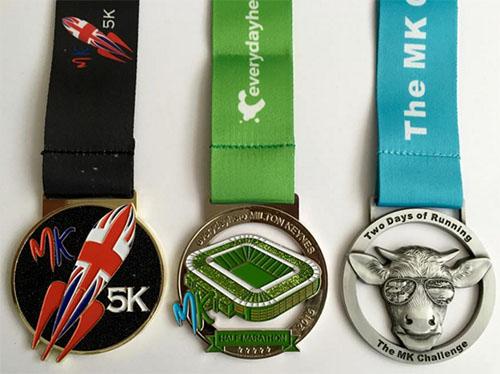 MK marathon medals