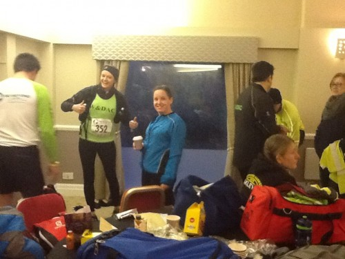 Getting ready at the Thames Trot
