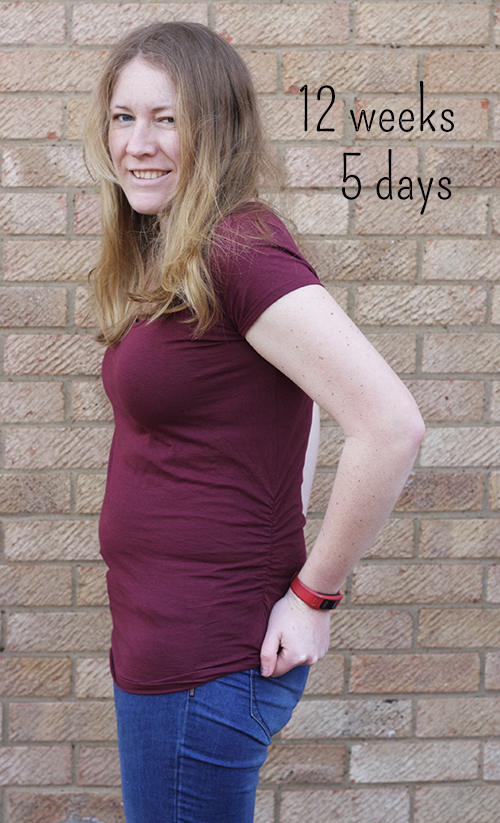 12 weeks 5 days pregnant