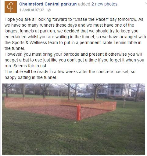 Chelmsford parkrun