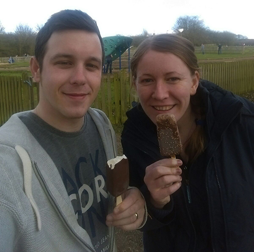 First icecream of the year