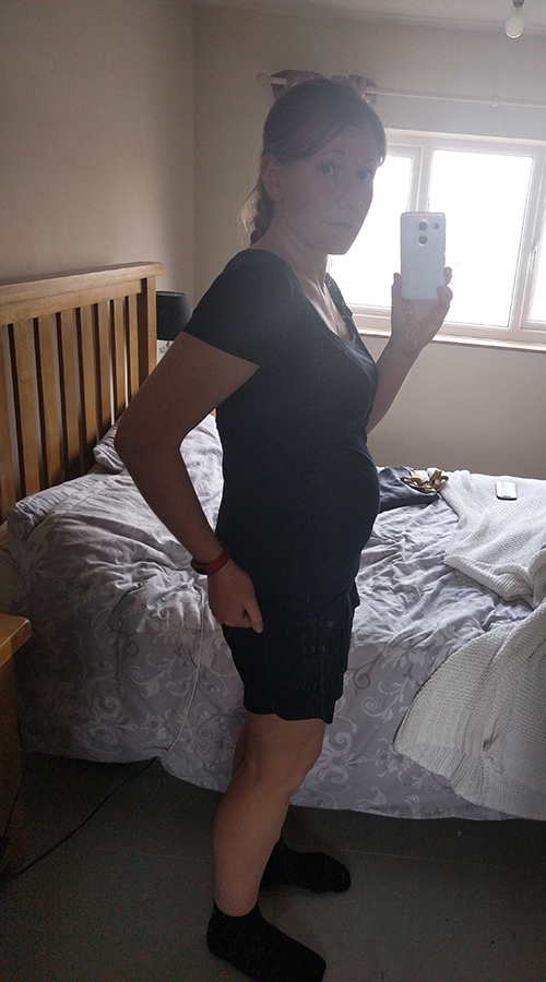 17w 1d pregnant