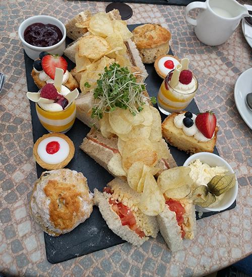 Beckworth Emporium afternoon tea