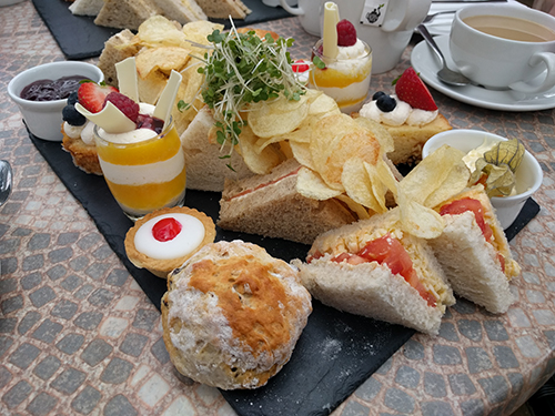 Beckworth Emporium afternoon tea