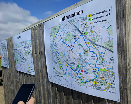 Colworth marathon challenge course map