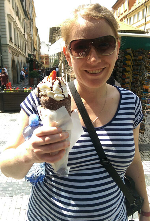 Prague icecream cone
