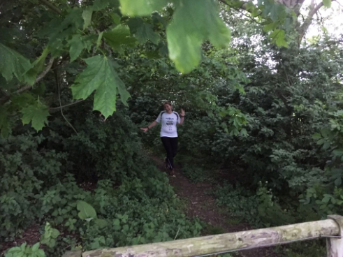 Trail run at 21 weeks pregnant
