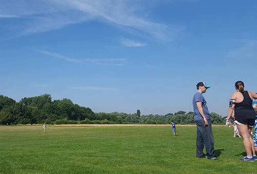 Huntingdon parkrun - no clouds