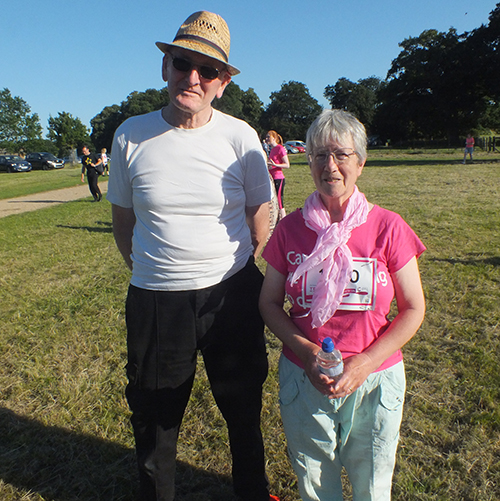 Houghton Hall Race4Life 2016 with Mum and Dad