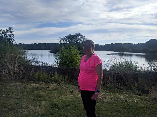 Peterborough parkrun at 36 weeks pregnant