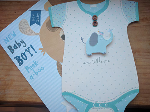 Welcome home cards for baby Oscar