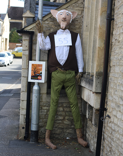 Stanwick scarecrows