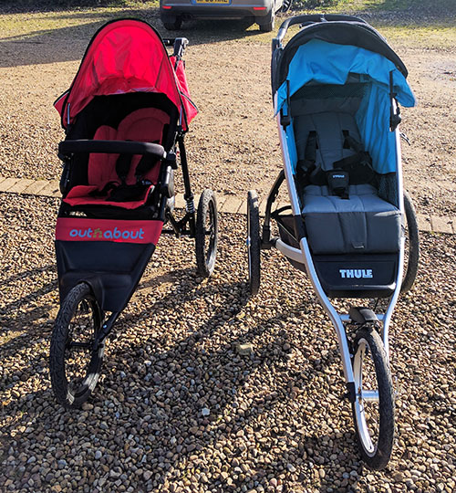 Thule Glide and the Out n About Nipper Sport V4