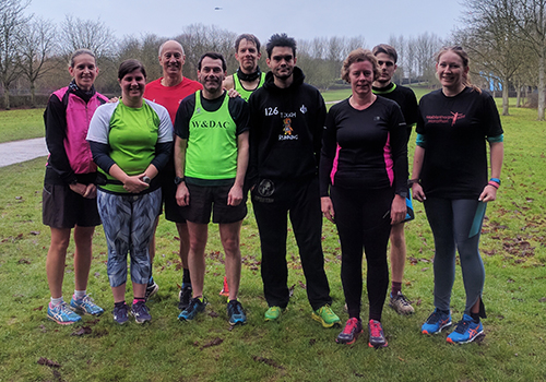 Milton Keynes parkrun on New Year's Day