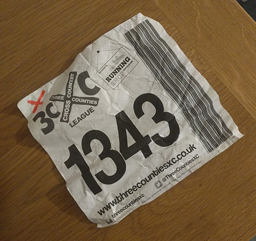 Three Counties race number