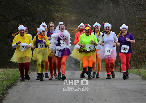 Welly Trail Races - hen party