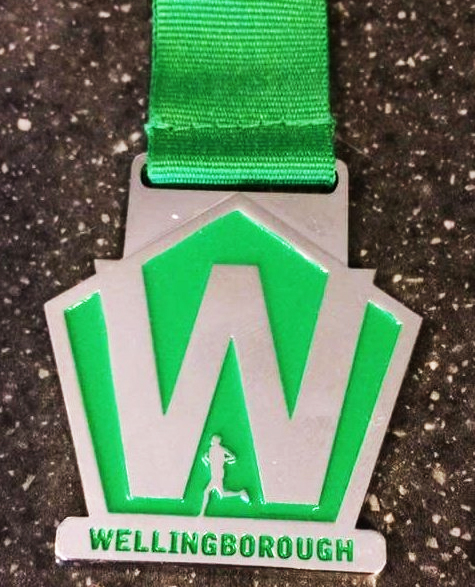 Welly Trail Race medal