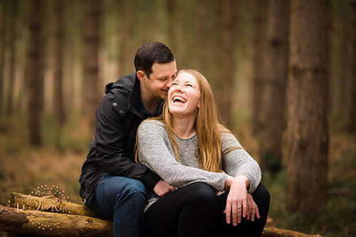 Do You Realise photography couple shoot at Harlestone Firs