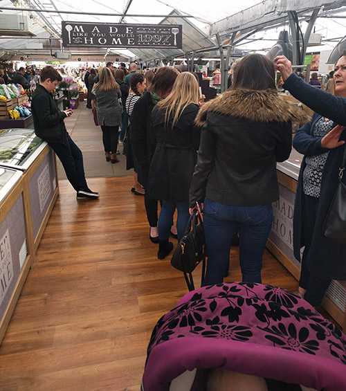 Beckworth Emporium queue