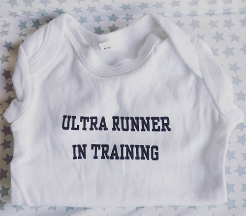 Ultra runner in training