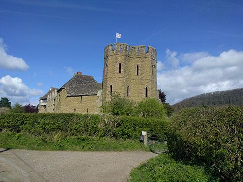 Castle in Shropshire