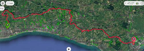 SDW50 route