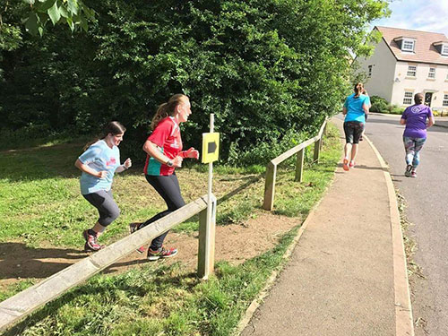 Corby parkrun with Laura