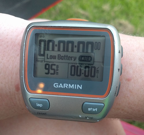 Harborough 5 Garmin time