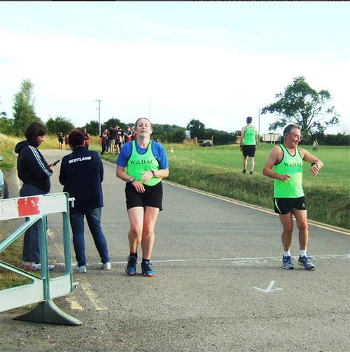 Pre Welly 5 finish line pic