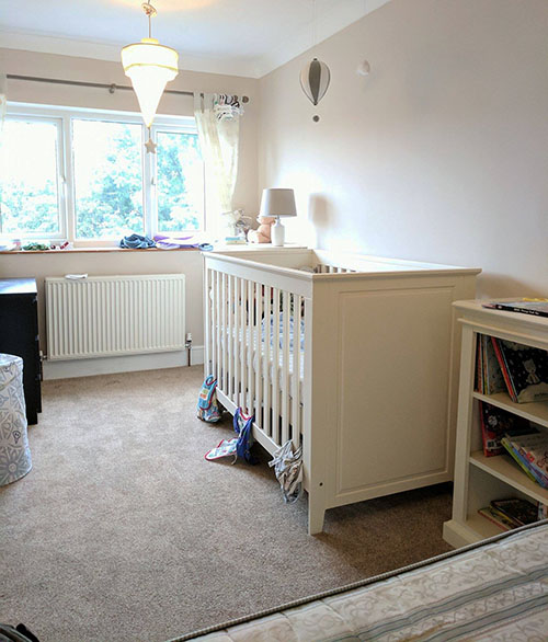 Oscar's nursery bedroom