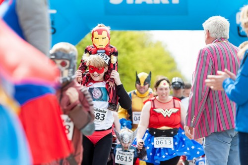 Milton Keynes Superhero fun run
