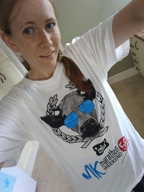 MK marathon ambassador t-shirt