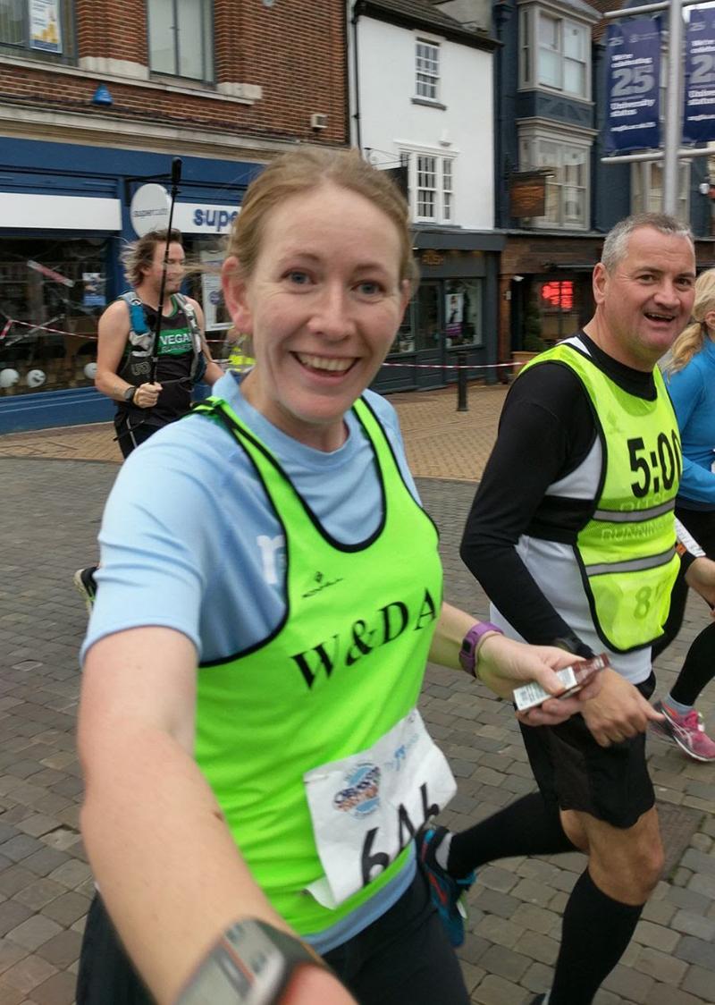 Chelmsford marathon mile 3