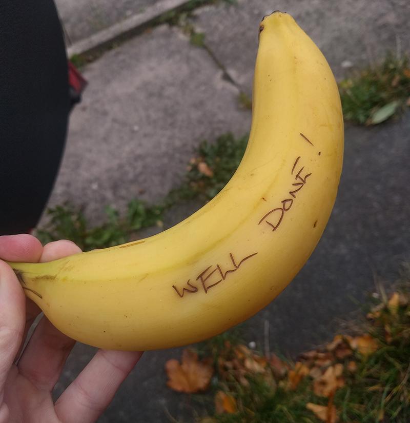 Chelmsford marathon banana