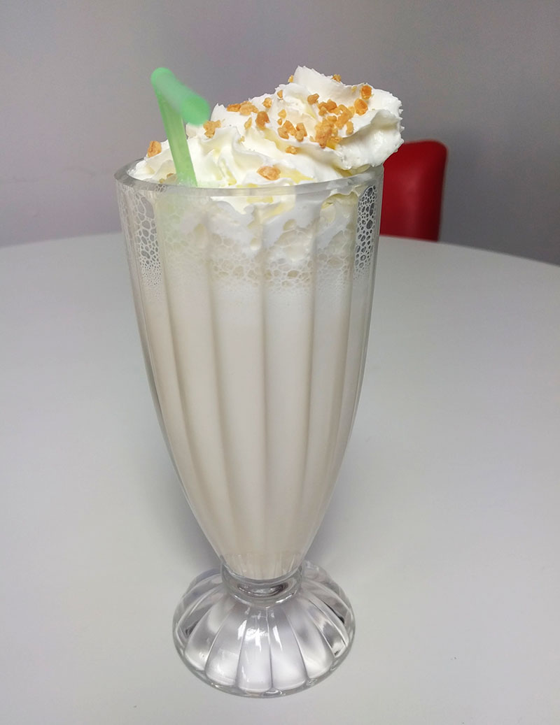 Marshmallow milkshake