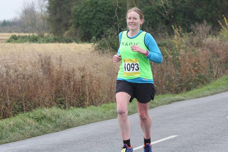 Bedford half marathon mile 3