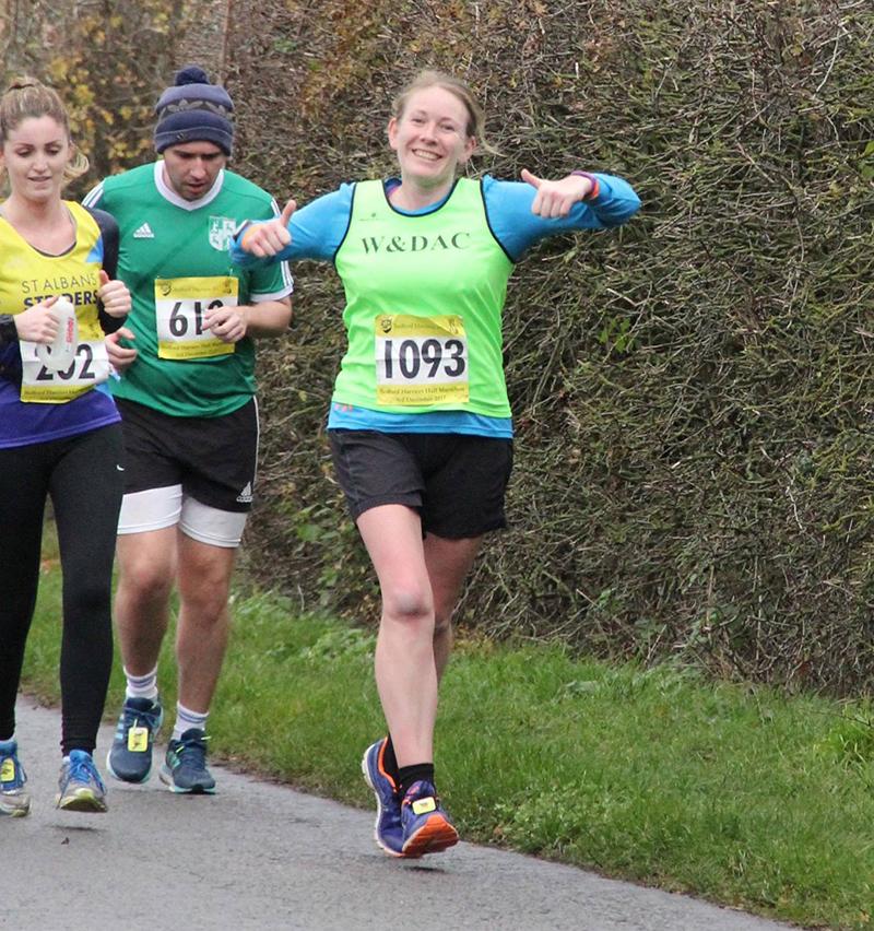 Bedford half marathon mile 12