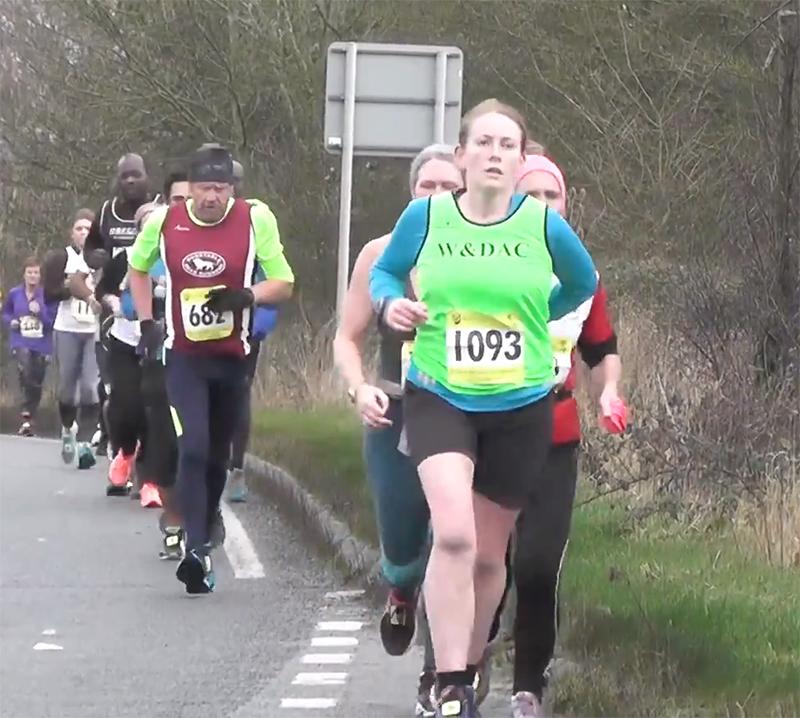 Bedford half mile 6