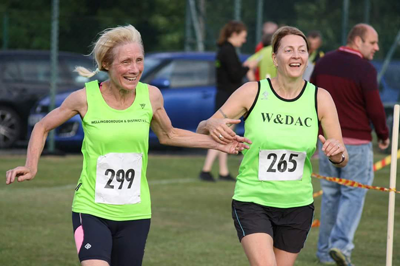 Sally and Jo at Colworth 5m