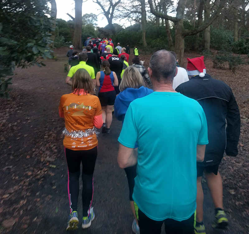 100th parkrun at Sheringham