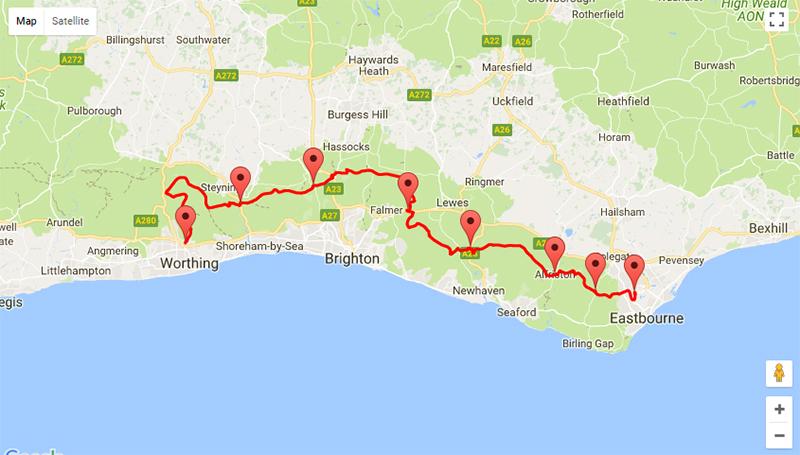 SDW50 route 2018