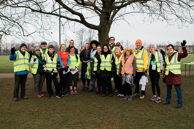 Northampton parkrun volunteers