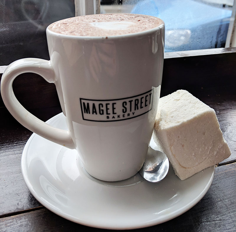 Magee Street hot chocolate
