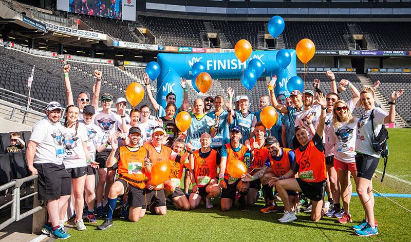 Milton Keynes Marathon ambassadors and pacers