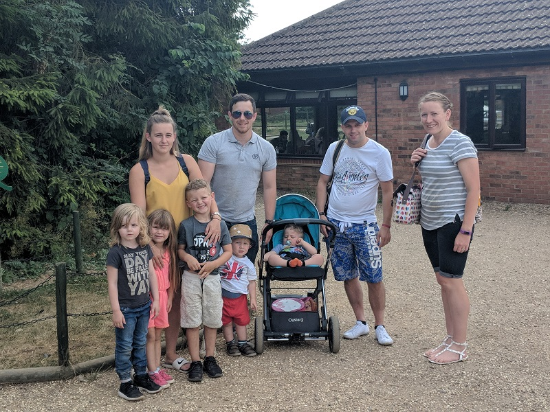 The Pearsons at West Lodge Farm Park